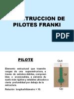 Construcción y Diseño de Pilotes Franki