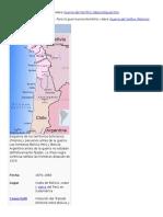 Guerara Del Pacífico 2016