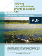 Principales Políticas Ambientales Prioritariamente Relevantes en El Perú