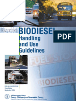 Biodiesel - Handling and Use Guidelines