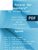 The Future for Investors - Siegel - Group 4.ppt