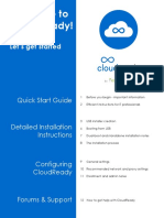 CloudReady Installation Instructions