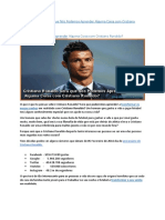 Cristiano Ronaldo Será que Nós Podemos Aprender Alguma Coisa com Cristiano Ronaldo?Cristiano Ronaldo Será Que Nós Podemos Aprender Alguma Coisa Com Cristiano Ronaldo
