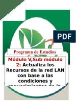 Temario General de Actualiza Recursos de Red 2016-1(Estudiante)