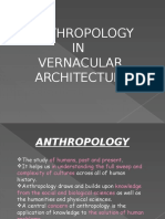 ANTHROPOLOGY  IN    VERNACULAR  ARCHITECTURE