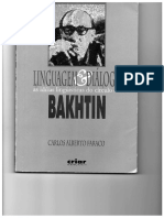 Faraco. Linguagem e Diálogo - Bakhtin