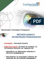 Metodologias Estrat Pedagógicas