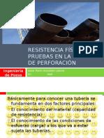 Resistencia Fisica y Pruebas de la Tuberia de Perforacion