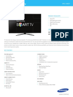 H6400 SMART LED Tv SPEC SHEET