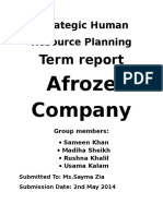 Afroze Report