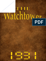 The Watch Tower - 1931 issues