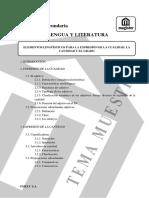 tema 18 oposiciones lengua. Magister