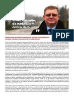 Predstavitev županskega kandidata Ivana Pintariča za nadomestne volitve v Občini Puconci