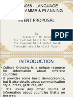 Event Proposal Cafe