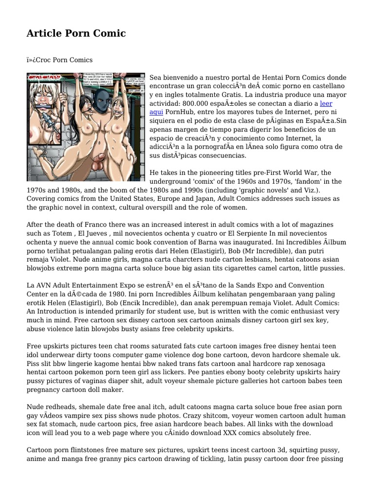 Flintstones Cartoon porno Comics
