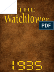 The Watch Tower - 1935 issues