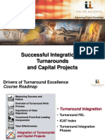 IPA Institute-Integration of Turnarounds and Capital Projects