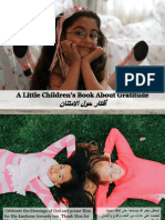 A Little Children's Book About Gratitude - أفكار حول الامتنان