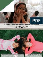 A Little Children's Book About Gratitude - أفكار حول الامتنان