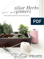 9 Familiar Herbs for Beginners eBook Herbal Academy of New England