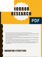 horror research