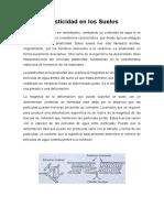 Informe Plasticidad de Los Suelos