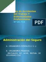 7.- Ley de Accidentes Del Trabajo y Enfermedades Profesional