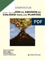 Compostaje. Obtención de Abonos de Calidad Para Las Plantas