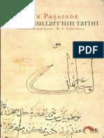 Aşık Paşazade - Osmanoğullarının Tarihi