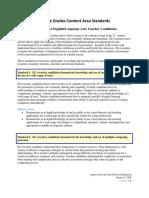 ncdpi middle grades english language arts standards