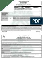 GFPI F 016 Proyecto Formativo