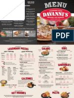 Davannis Full Menu 201505181