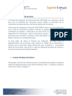 InsInstructivo de Validaciontruct Ivo General Valid Ac i on Informacion
