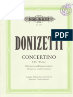 Donizetti Concertino
