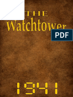 The Watchtower - 1941 issues