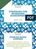 strategies-week 4