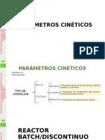 Parámetros Cinéticos