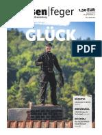 Glück - Ausgabe 1 2016 des strassenfeger