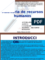 Auditoria de Recursos Humanos Jimenez Alexca