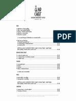 menu (2) the cafe