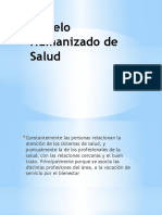 Modelo Humanizado de Salud