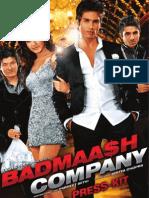 Badmaash Company Press Kit