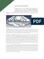 Resistencia a La Corrosion y Protección Del Aluminio