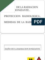 Daños a La Radiacion Ionizante
