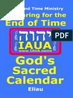 Sacred Calendar