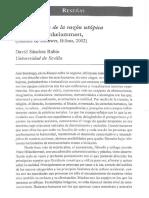 Sobre Critica de la razón utópica de Franz Hinkelammert,