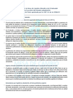 Propuesta de la MCC-SLV para la acción del Estado salvadoreño ante el Acuerdo de Paris aprobado por la COP-21 de la CMNUCC