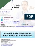 SResearch Tools