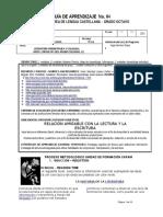 8°-G4 LITERATURA PRECOLOMBINA