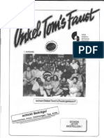Onkel Toms Faust (afro look #1), 1988
